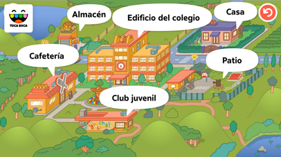 Screenshot for Toca Life: School in Peru App Store