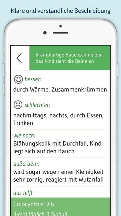Screenshot for Homöopathie für Kinder - 130 Globuli für über 400 Beschwerden in Belgium App Store