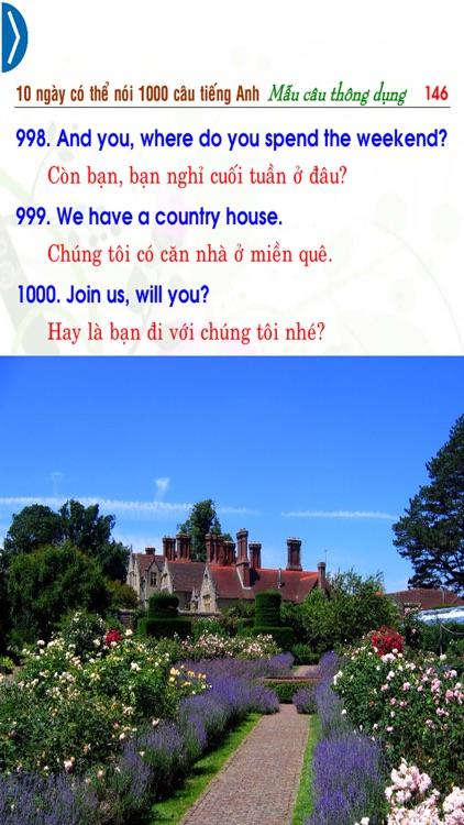 10 ngày có thể nói 1000 câu tiếng Anh – Mẫu câu thông dụng (In 10 days can say 1000 English Sentences – Common Sentences) screenshot-4