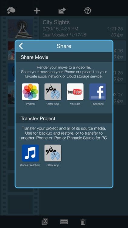 Pinnacle Studio - video editing screenshot-4