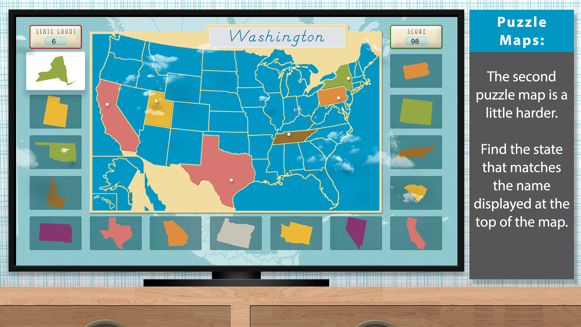 The United States of America - Geography by Mobile Montessori screenshot 4