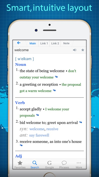 Dictionary Thesaurus With Google Translate review screenshots
