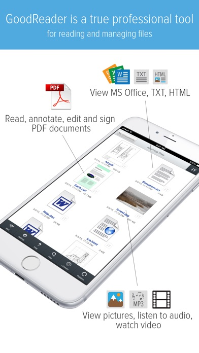GoodReader - PDF Reader, Annotator and File Manager Screenshot