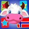 Flashcards in Norwegian for Kids