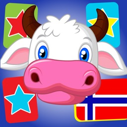 Flashcards in Norwegian for Kids