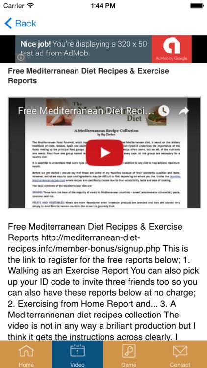 Mediterranean Diet - #1 Diet Recipes and Diet Plan screenshot-3