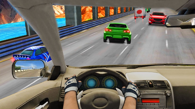 Race In Car 3D : Most wanted Speed Racing Game