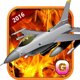 F16 Jet Fighter Air Sky Strike – aircraft missile war simulator