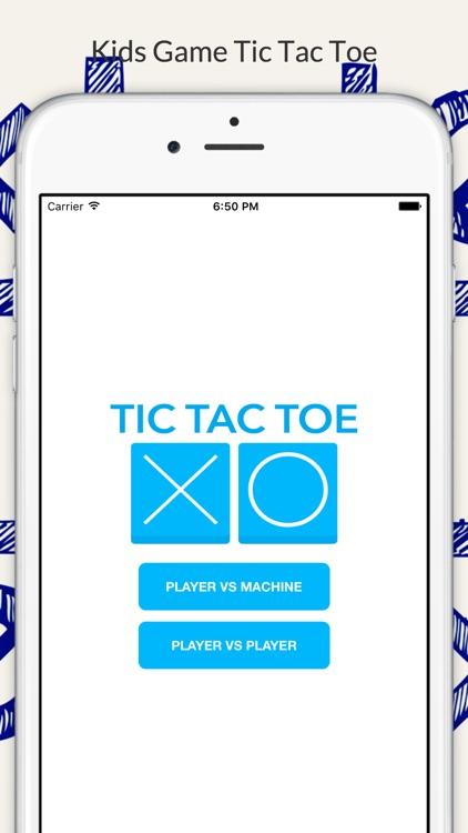 Tic Tac Toe-Kids Fun Free Game