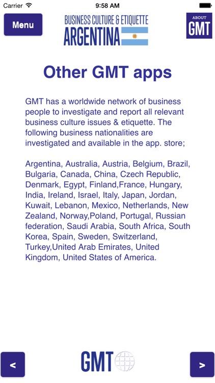 Business culture & etiquette Argentina screenshot-3