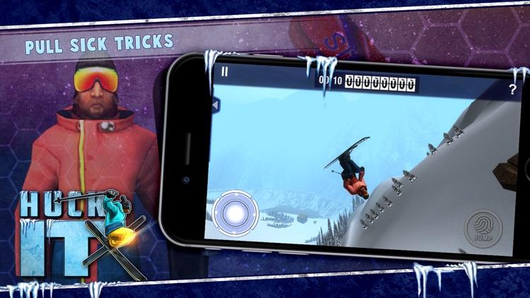 Huck It Skiing 3D