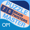 Puzzlemaster Deck - 75 Brain Twisters - Will Shortz - Oceanhouse Media