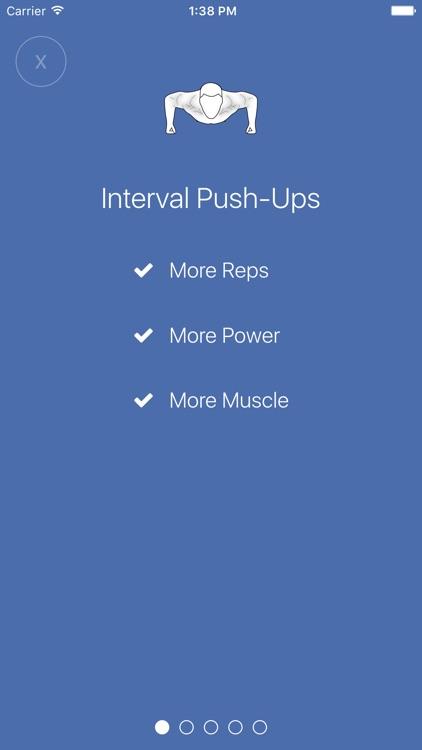 Interval Push-Ups screenshot-0