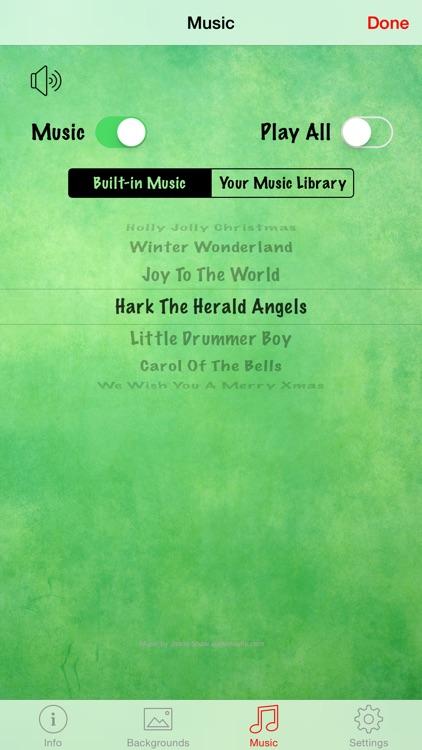 Christmas Countdown w/Music screenshot-3