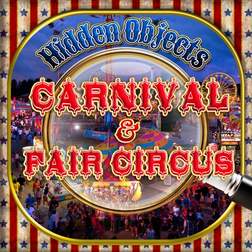 Carnival Fair & Circus – Hidden Object Spot and Find Objects Photo Differences Amusement Park Games