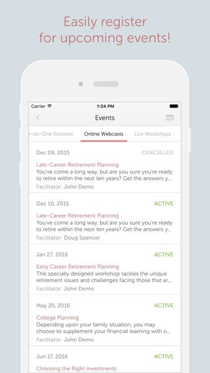 Financial Finesse screenshot-3