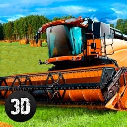 Farm Harvester Tractor Simulator 3D