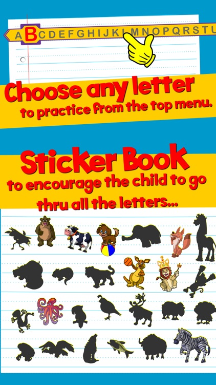 Learn ABC and alphabet thru trace game, flash cards and song. screenshot-3