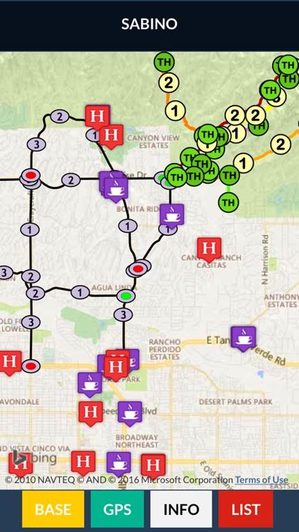 Sabino Canyon Trail Map Offline screenshot-3