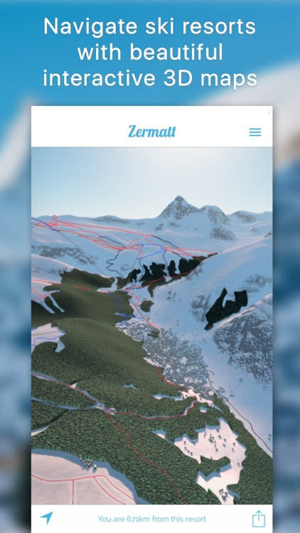 Piste - 3D Ski and Snowboard Maps