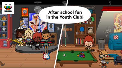 Screenshot for Toca Life: School in Belgium App Store