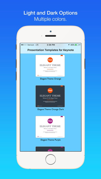 Presentation Templates for Keynote screenshot-2