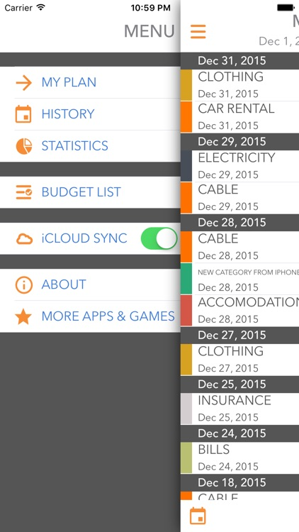 My Money - Track Your Budget and Expenses