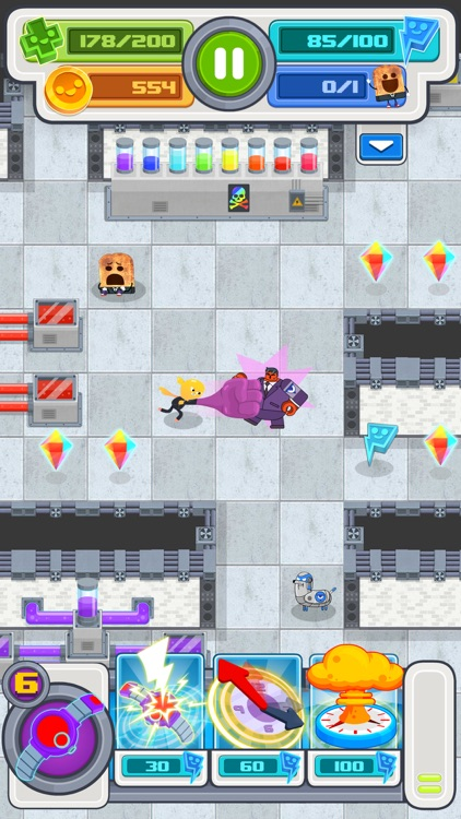 Agent Gumball - Roguelike Spy Game screenshot-3