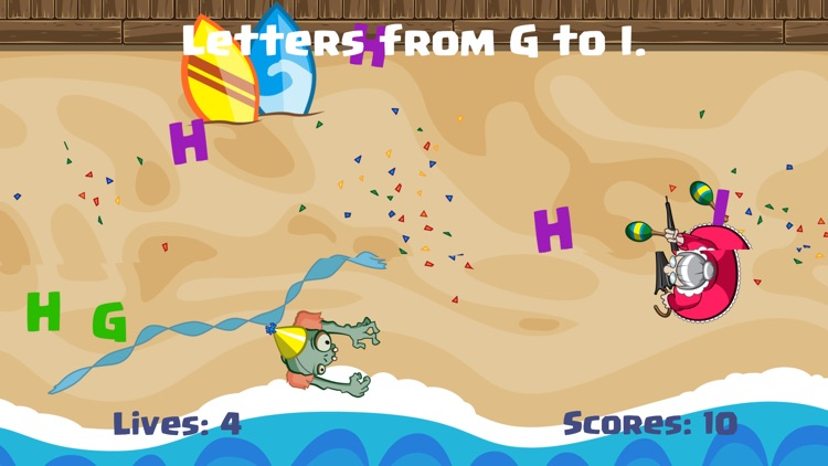 Alphabet Zombie - Kids Learn Reading Game screenshot-3