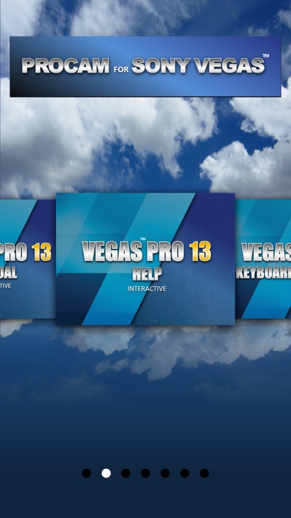 PROCAM for Sony Vegas