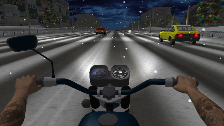 Russian Moto Traffic Rider 3D screenshot-3