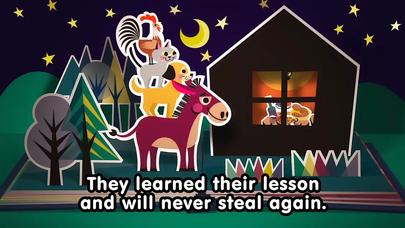 【無料版】ブレーメンの音楽隊 ~ぬりえで遊べる赤ちゃん・子供向けのアニメで動く絵本アプリ:えほんであそぼ!じゃじゃじゃじゃん童謡シリーズのおすすめ画像4