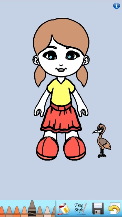 Paper Doll Coloring Book!