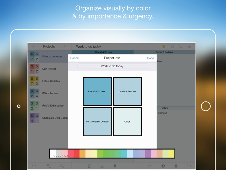 Priority Matrix for iPad - Manage Effectively screenshot-4