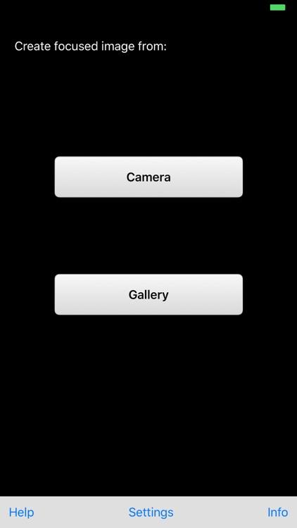 Focus DOF Camera screenshot-3