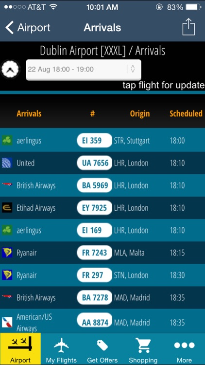 Dublin Flight Information + Flight Tracker (DUB) screenshot-2
