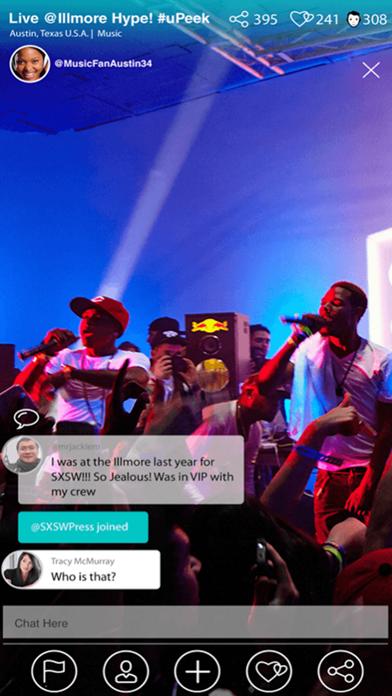 uPeek - LIVE Stream Video screenshot two