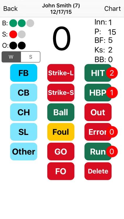 Pitch Count & Chart screenshot-3
