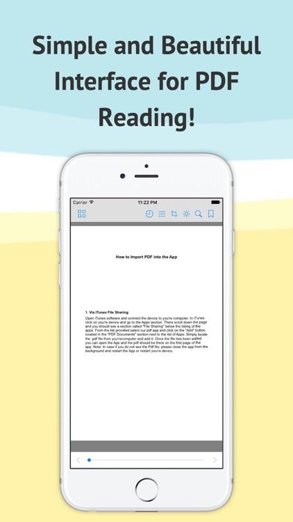 PDF Reader-view