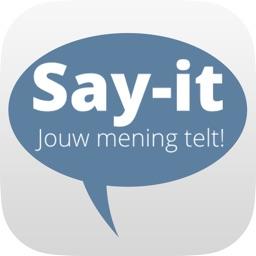 Say-it