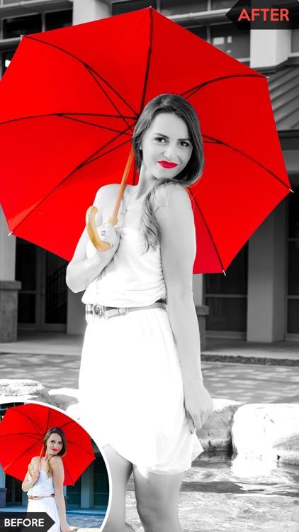 Fancy Photo Color Splash Effects