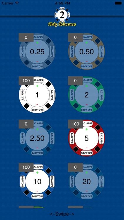 Poker Setup & Timer: Texas Hold'em screenshot-1