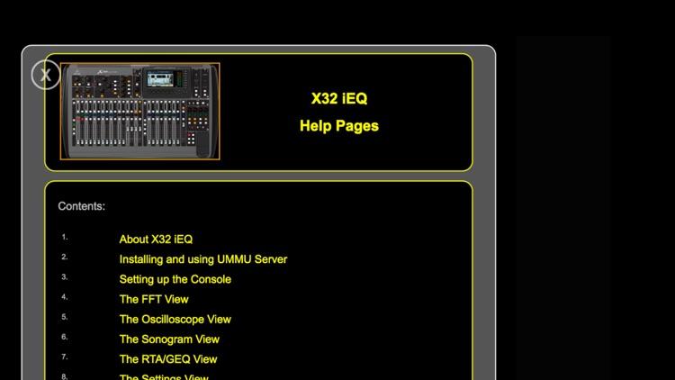 X32 iEQ screenshot-3