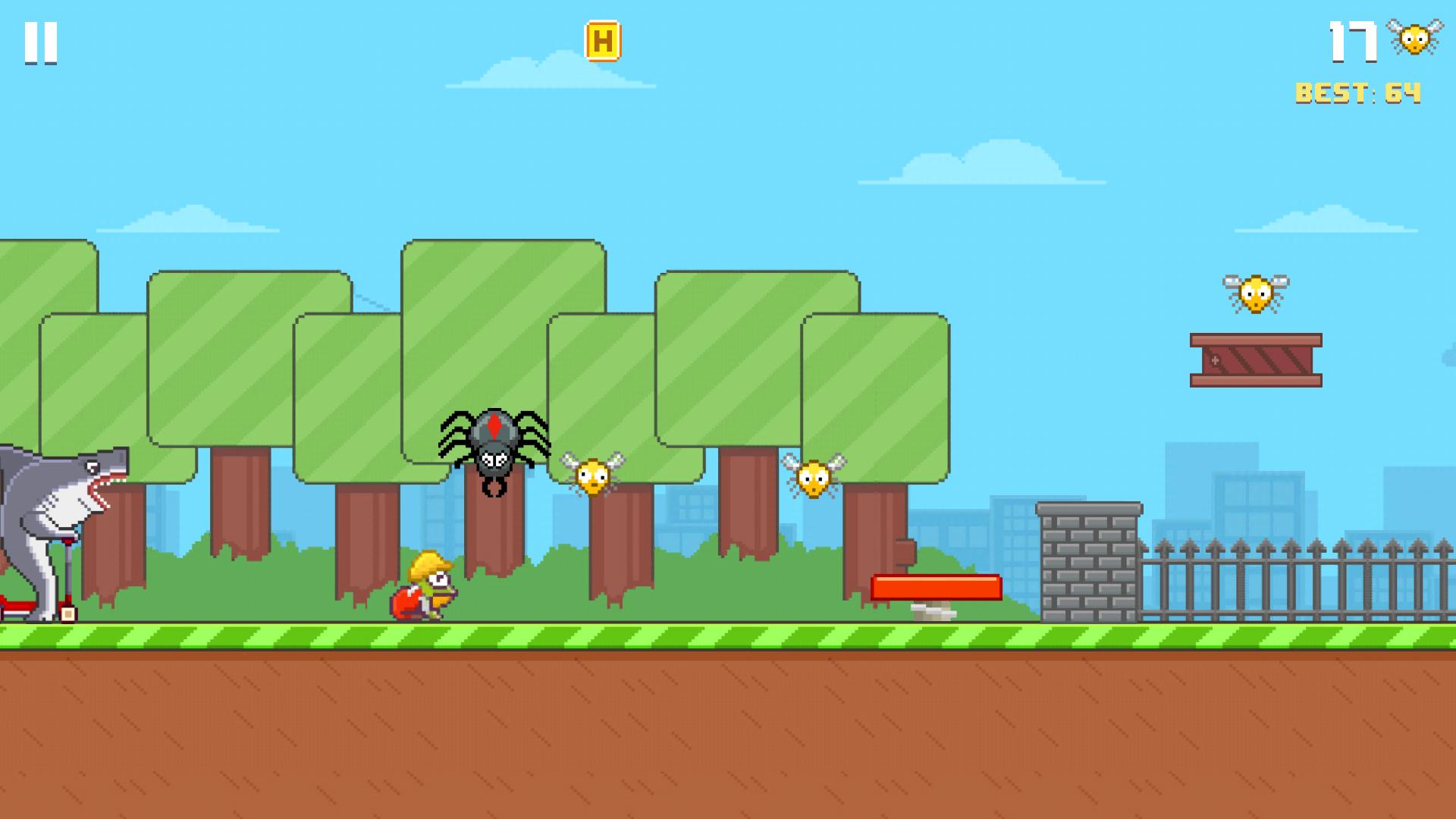 Hoppy Frog 2 - City Escape screenshot 11