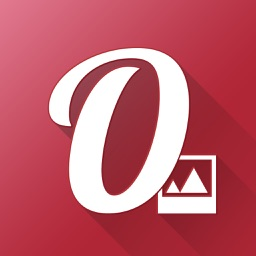 Overphoto Typography Photo Editor - Write captions, add quotes & create font effects