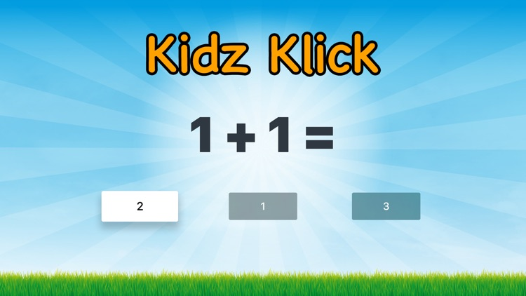 Kidz Klick: Math Edition