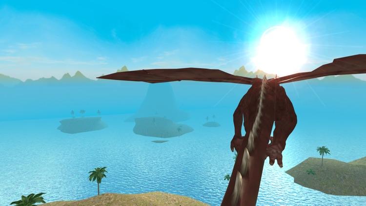 Flying Dragon Simulator 2016 screenshot-4