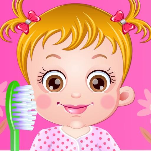 可爱宝贝学刷牙