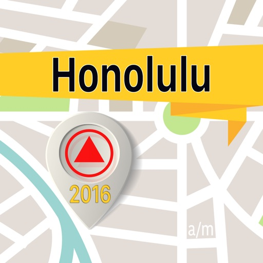 Honolulu Offline Map Navigator and Guide