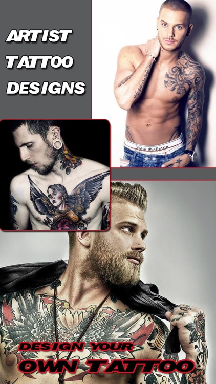 Artist Tattoo Designs Pro - Body Art Ink Salon & Color Tats Camera